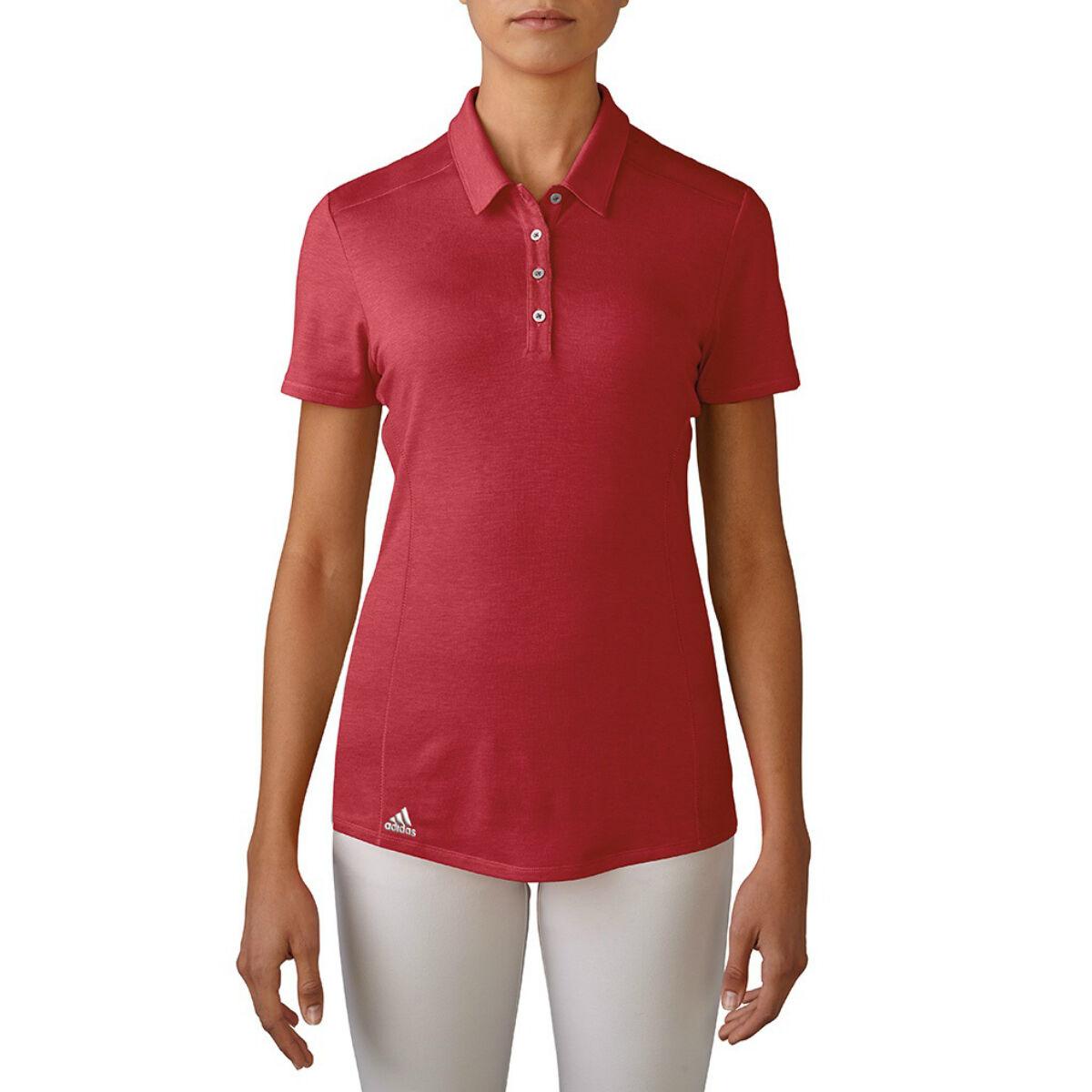 Adidas Golf Polo Ladies (Power Red)