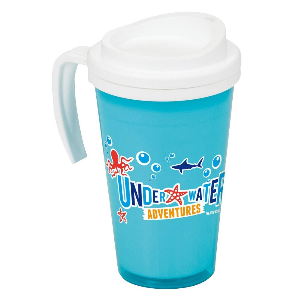 Americano Mug with Handle - Blue