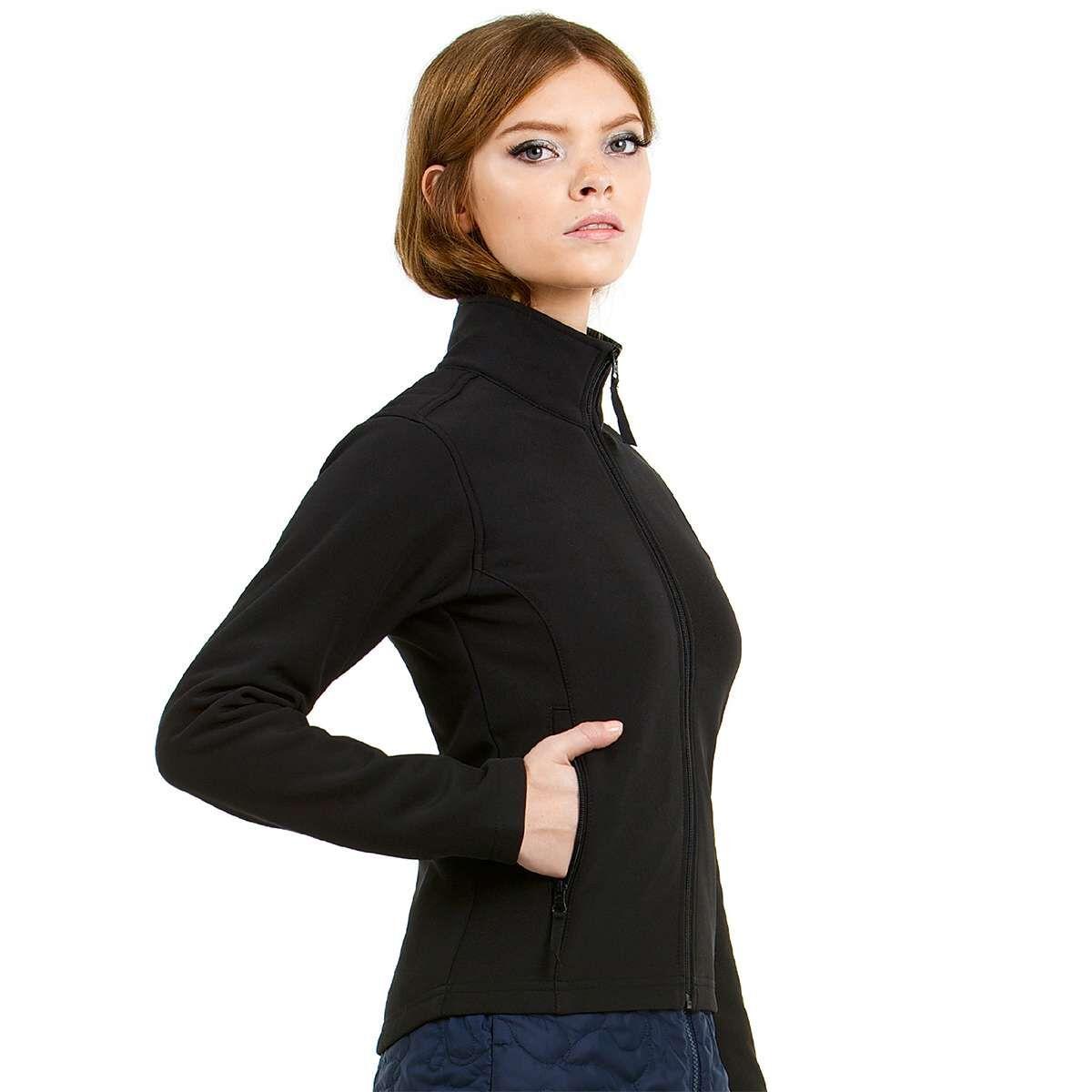 B&C Softshell Jacket Black