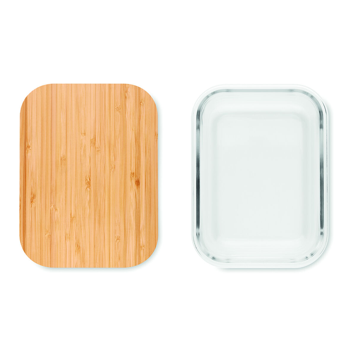Bambo Lid Lunch Boxes
