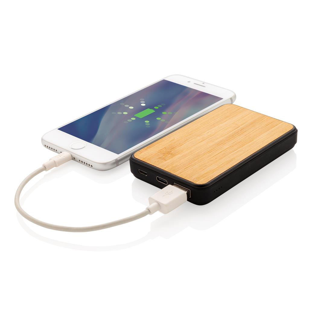 Bamboo Powerbank