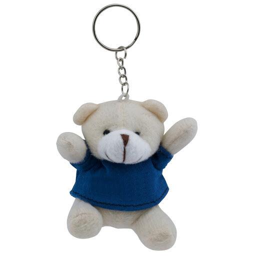 Teddy Bear Keyring - Blue