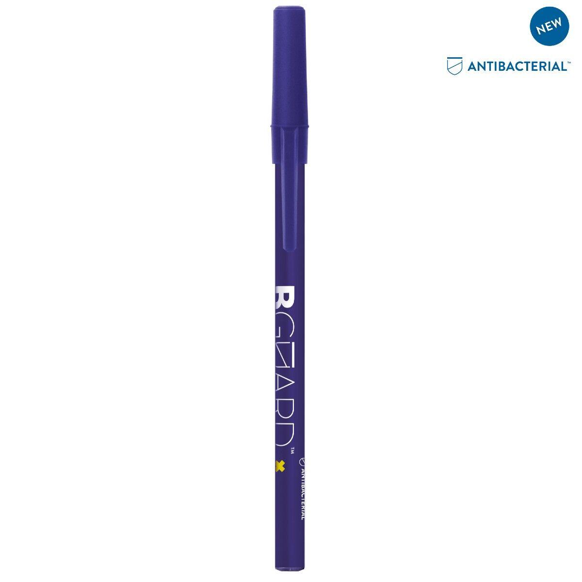 Bic Antibacterial Stic Pen - Blue