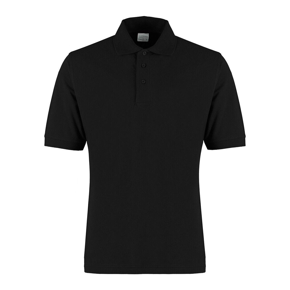 Kutom Kit Cotton Klassic Polo Shirt Black