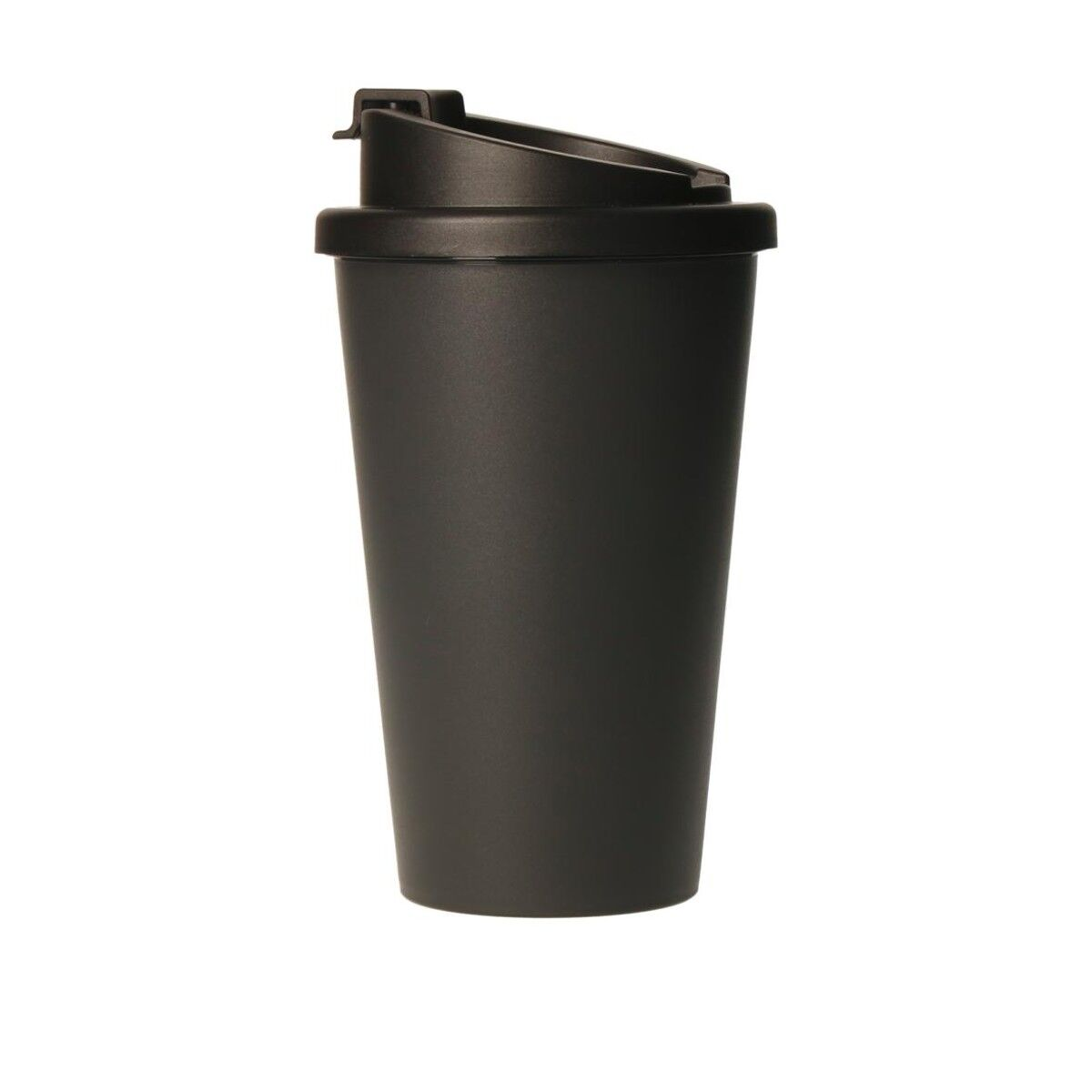 Bioplastic Spill Proof Takeaway Cup Black