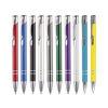 Budget Metal Push Button Pen in 10 colours