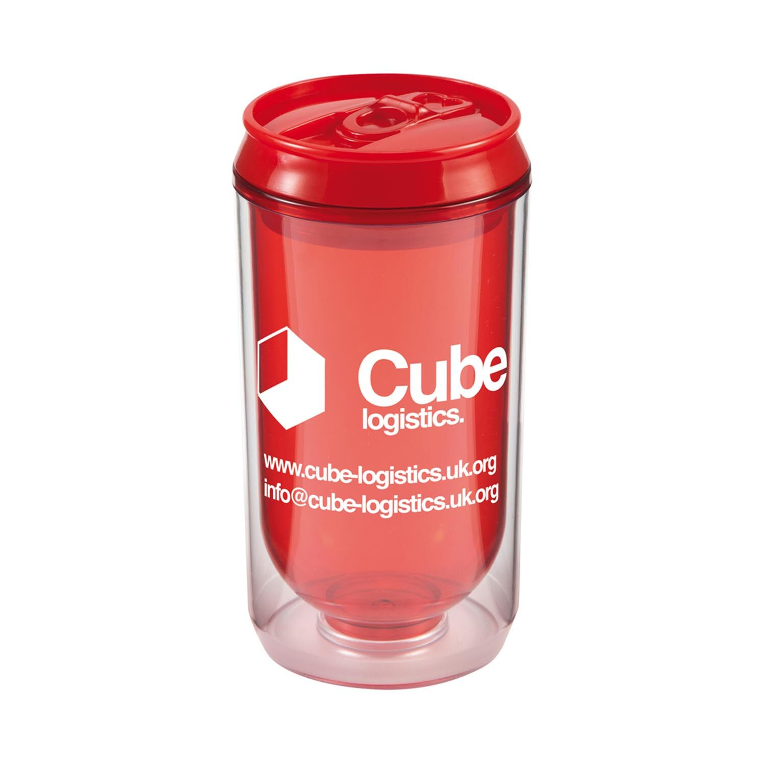 Promotional Can Cup - Red