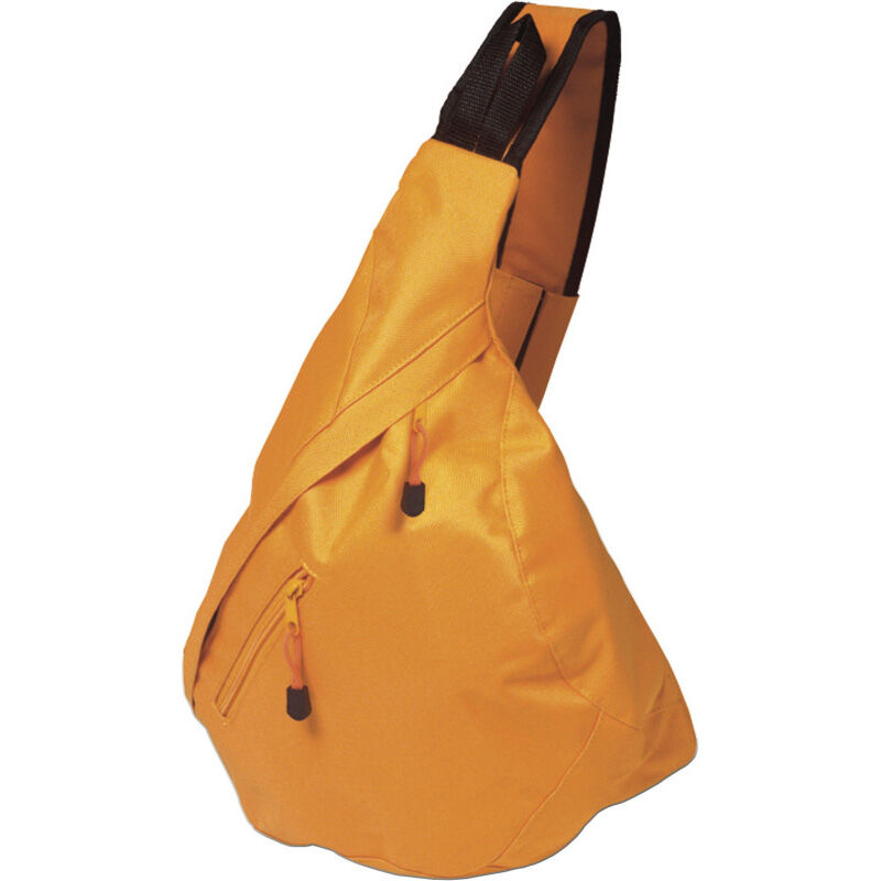 Triangular City Backpack - Orange