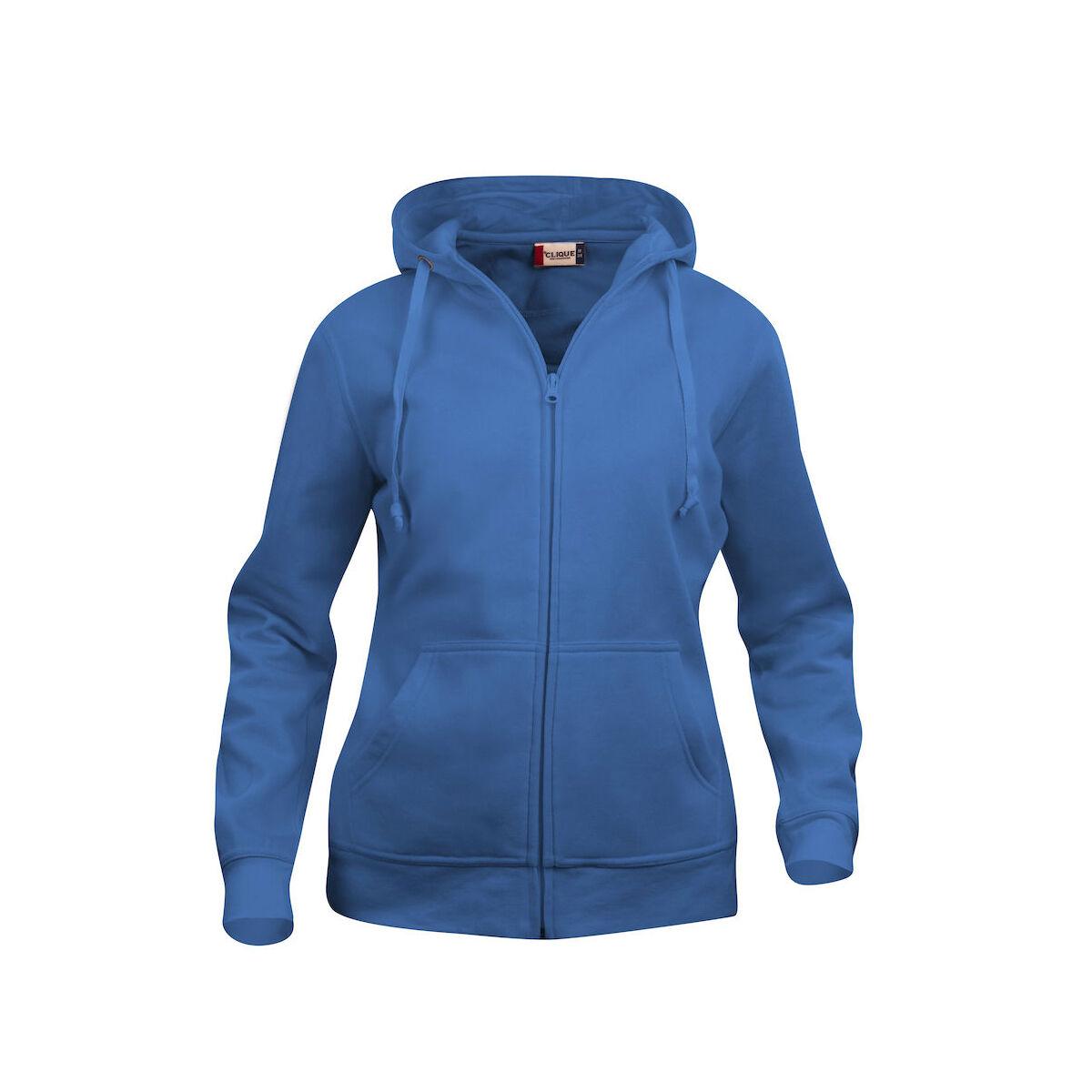 Clique Zip Hoodie (Royal Blue)