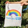 Personalised Cotton Scrubs Bag