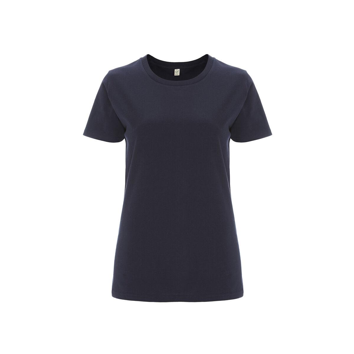 Organic Earth Positive Ladies T-Shirts Blue