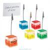 Cube Memo Clips for Branding - Gel Filled
