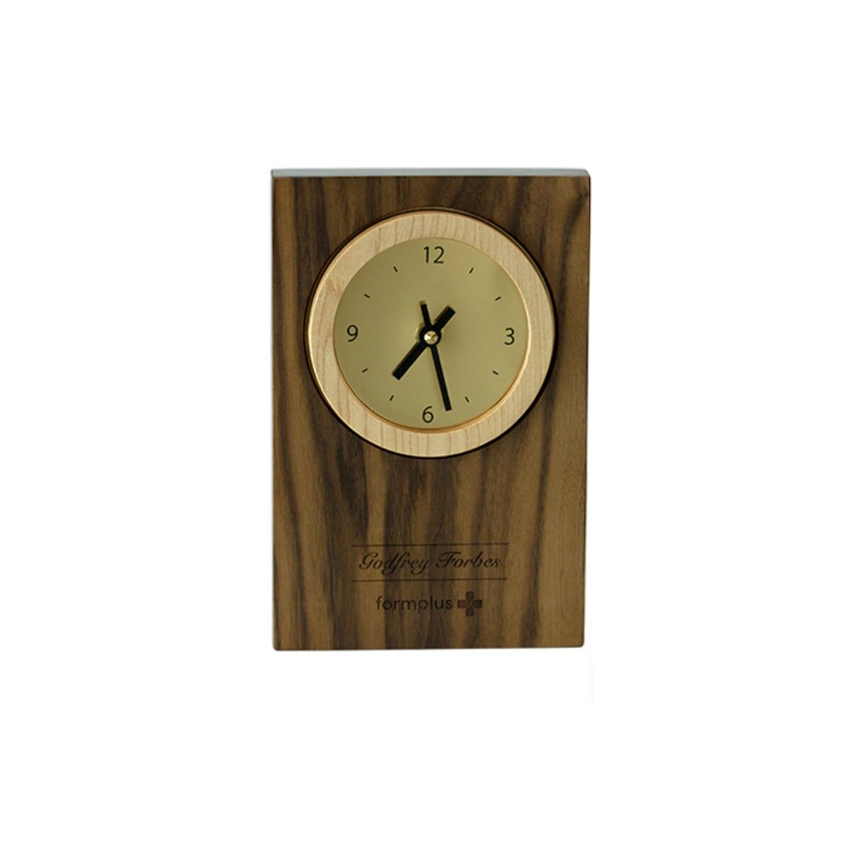 Dual Wood Clocks