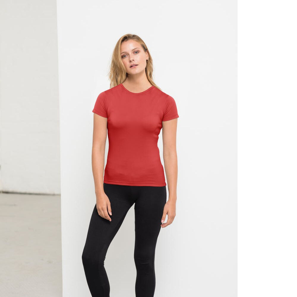 Ecologie Brand Recycled Performance Shirt in red