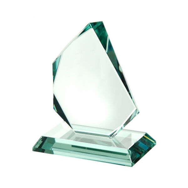 Optical Crystal Flame Shaped Award