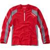 Flux Singletrack Jersey L/S Red