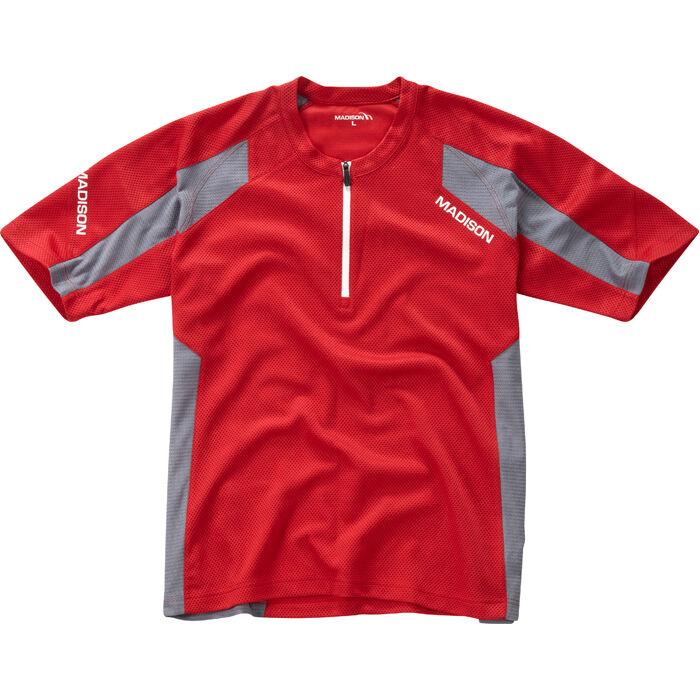 Flux Singletrack Men's S/S Jersey - Red