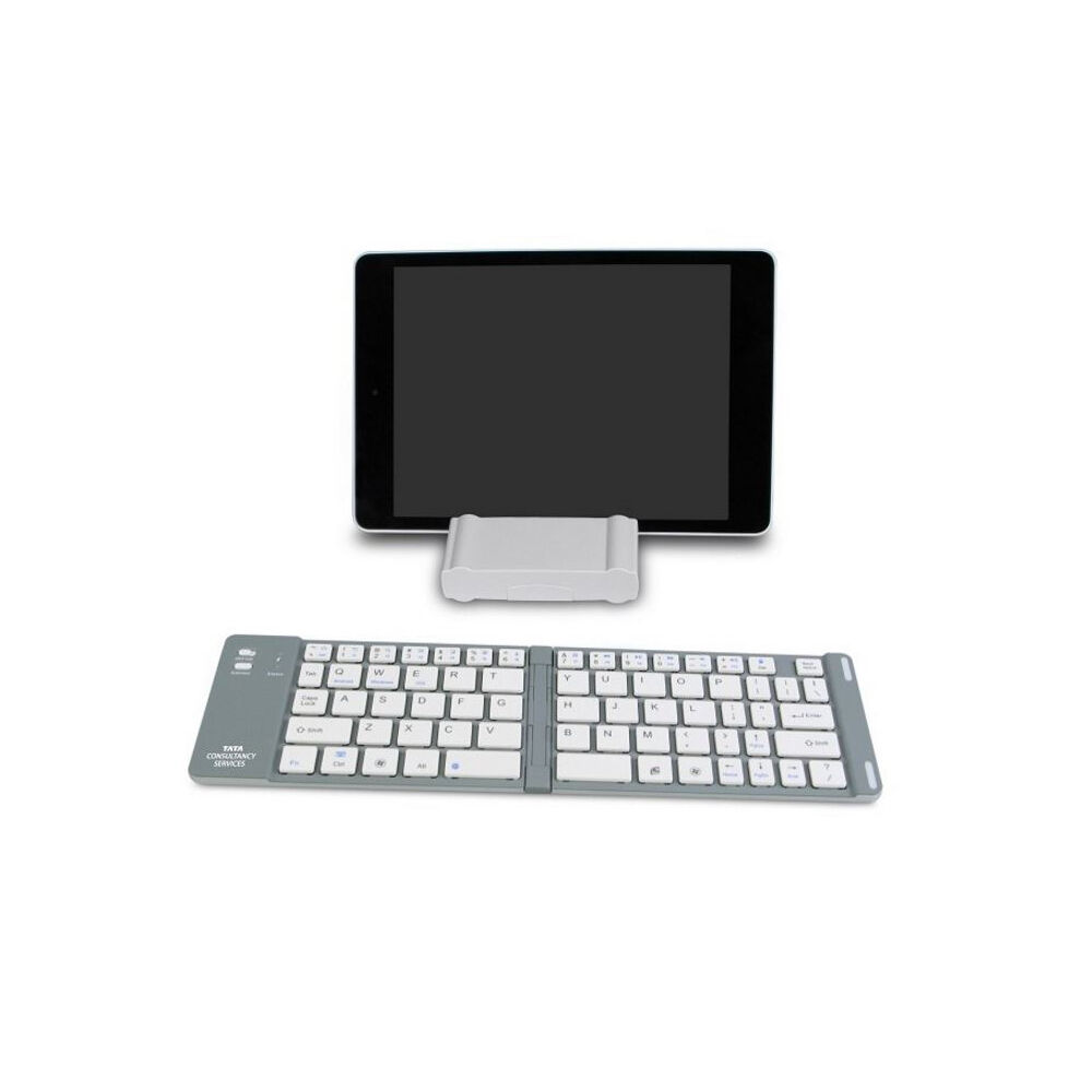 Portable Folding Keyboard with Bluetooth