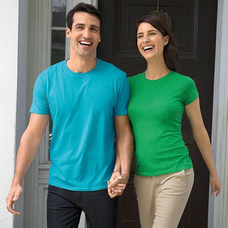 Gildan Men's Soft-Style T-Shirt - Sky Blue