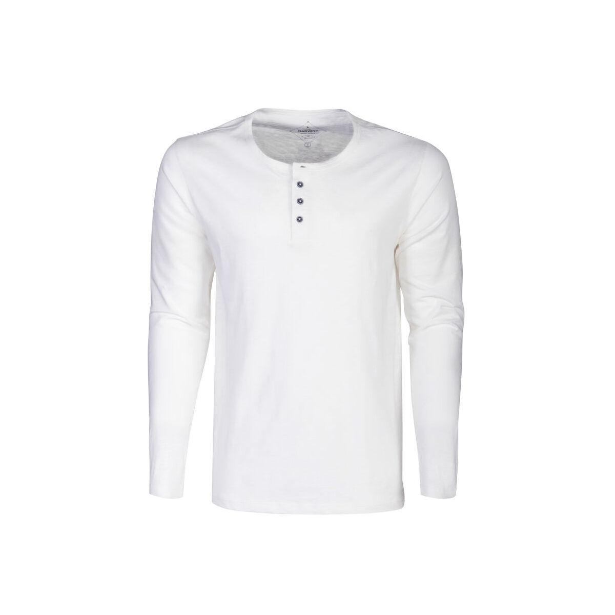 Harvest Long Sleeved Sweater (Men's White)