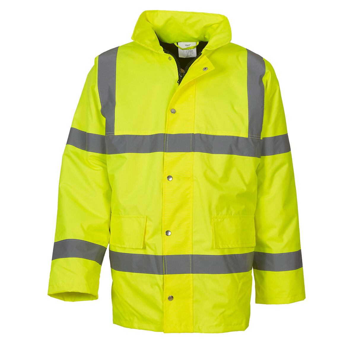 High Vis Road Safety Jacket Green
