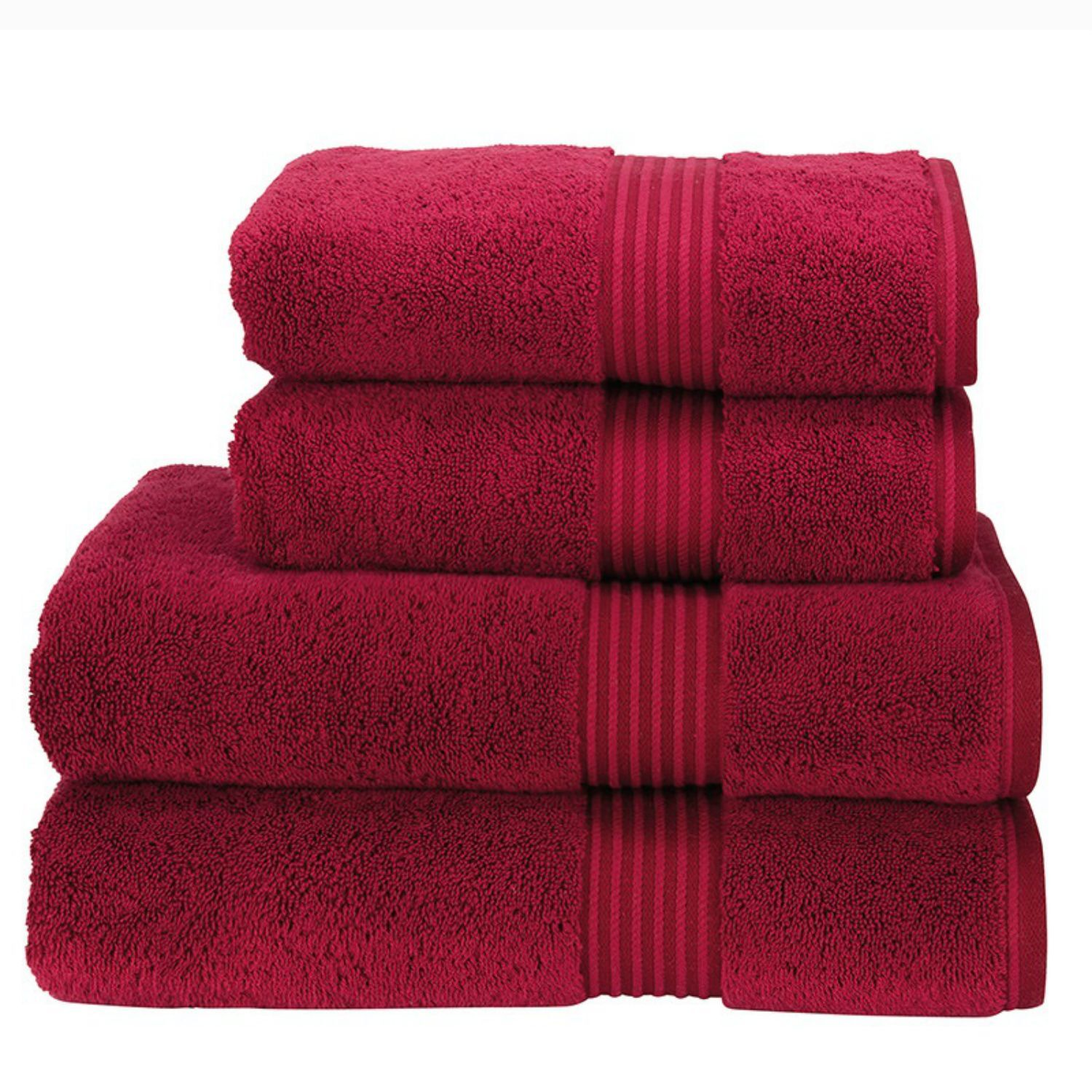 Christy Hotel Towels (Cherry)
