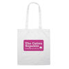 Colour Cotton Shopper Bags to Brand - White