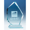 15 cm Jade Glass Ice Peak Award