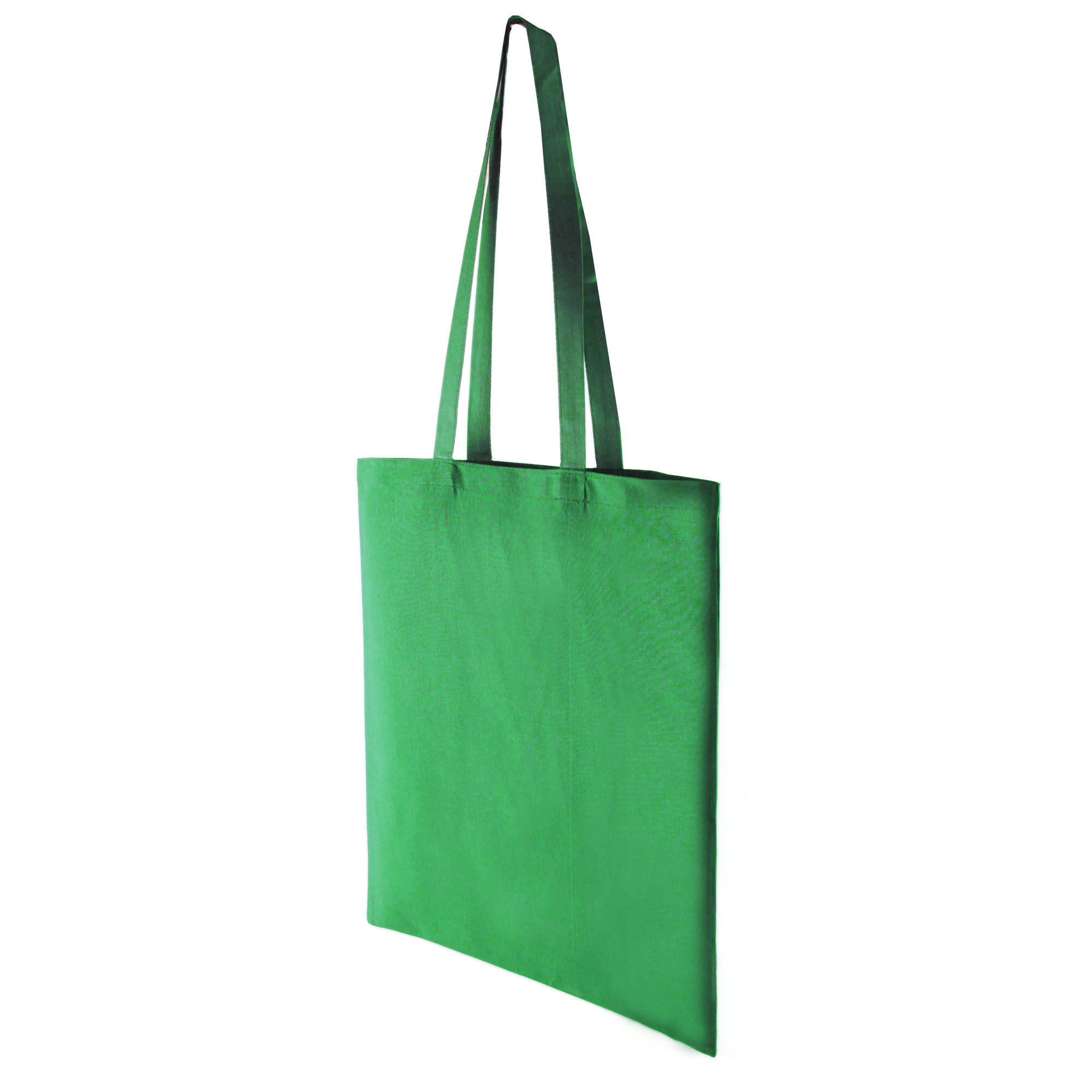 Premium Cotton Dyed Shopper Bags - Green
