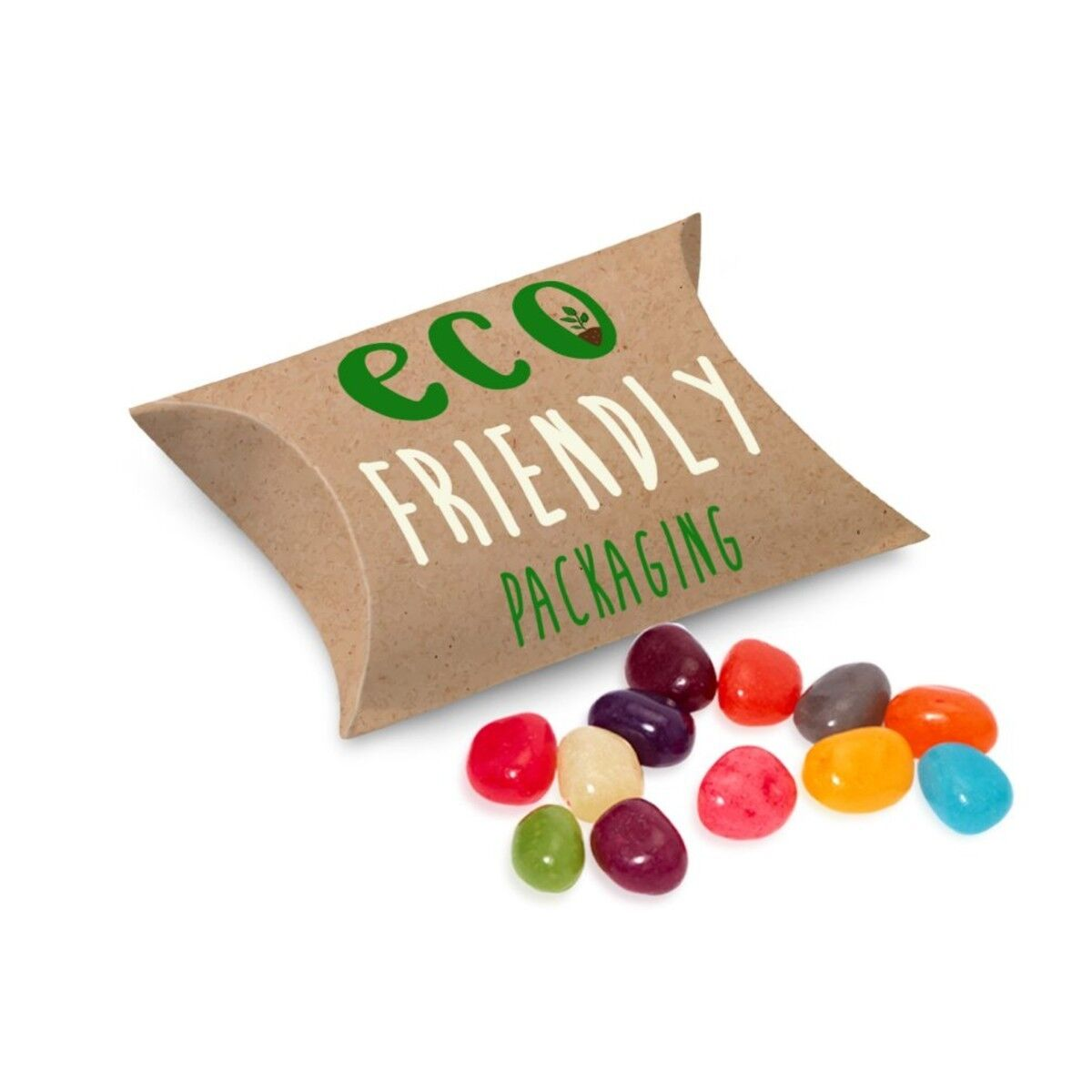 Biodegradable Card Pouch filled with The Jelly Bean Factory