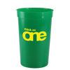 Large Stadium Cups 568 ml - Green