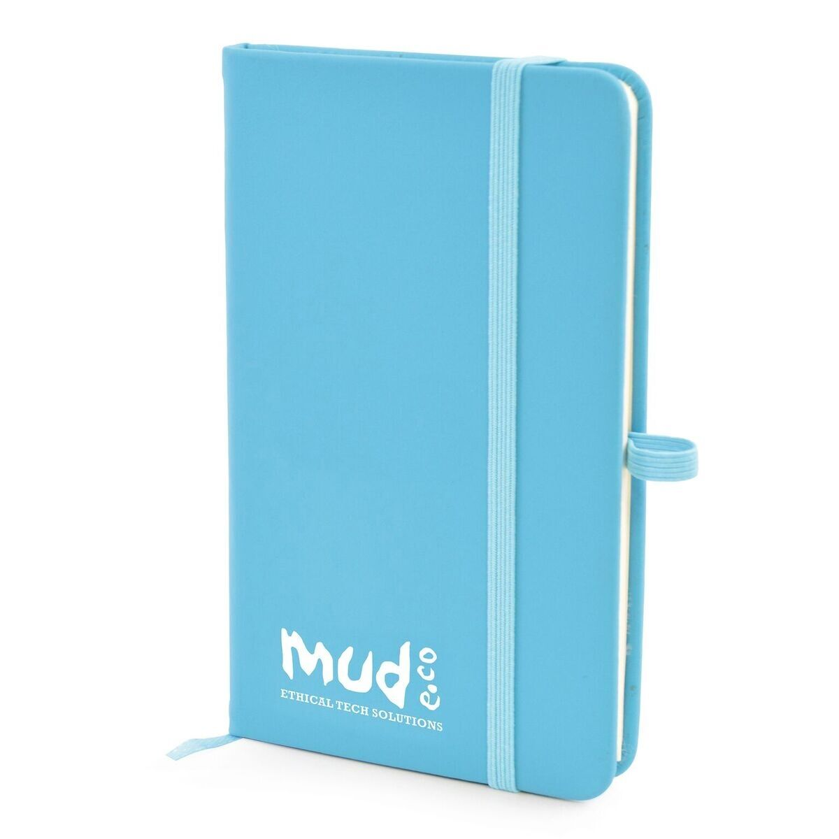 A6 Notebook with Pen Loop (Blue)