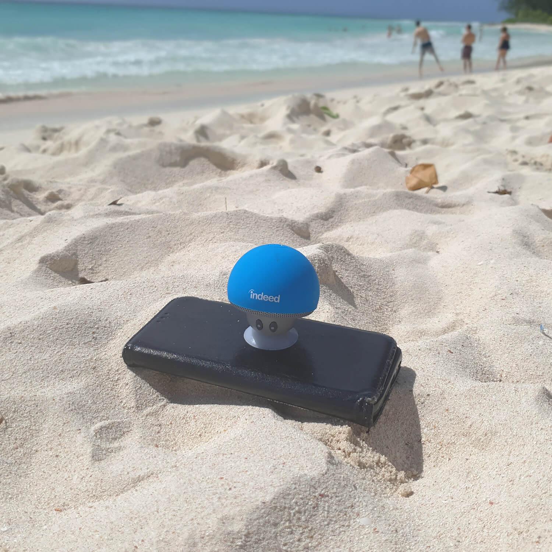 Bluetooth Mushroom Speaker & Phone Stand