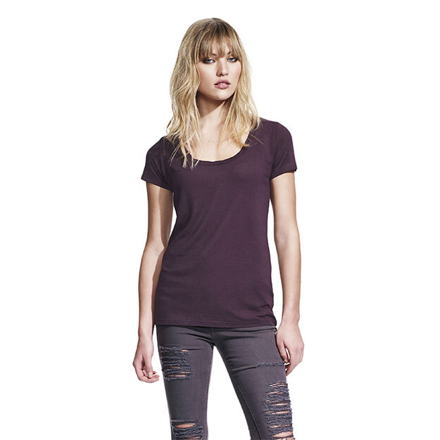 Ladies Continental Brand Organic Bamboo T-shirts (Twist)