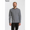 Neutral Long Sleeve Organic Men's T-shirt Striped