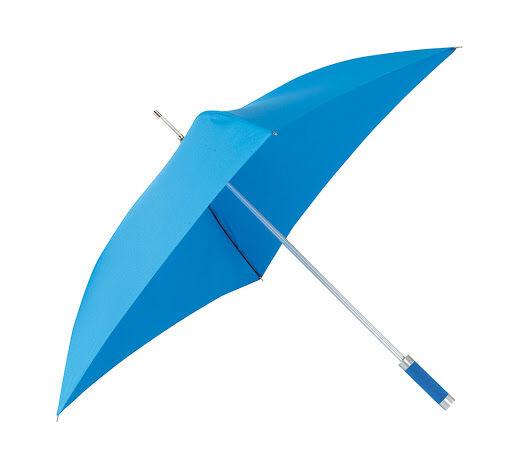 Quatro Square Umbrella Blue