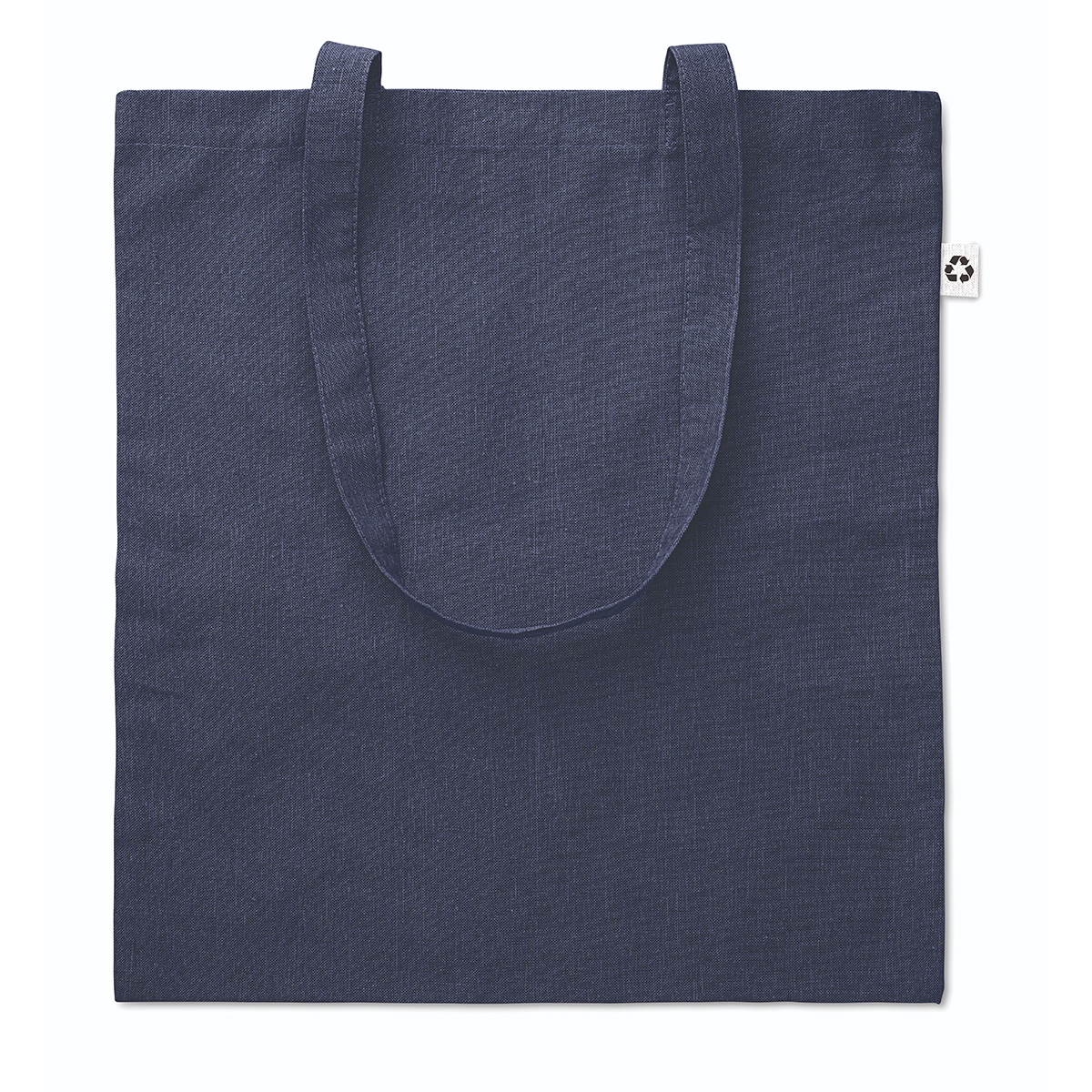 Recycled Cotton Tote Bag Navy Blue