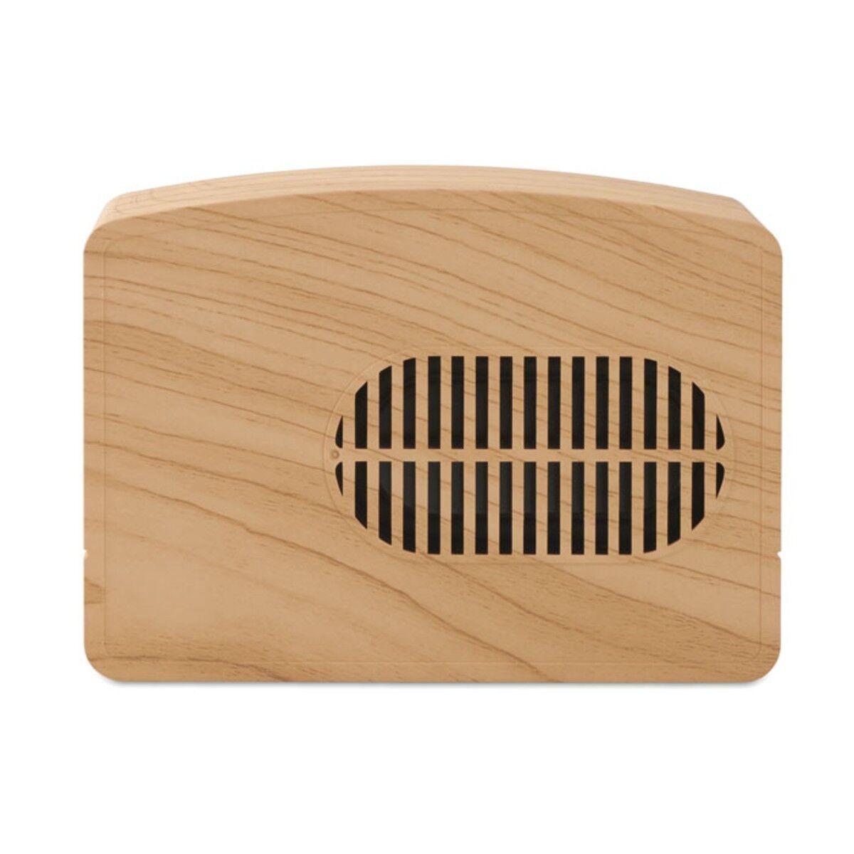 Retro Bluetooth Speaker back view