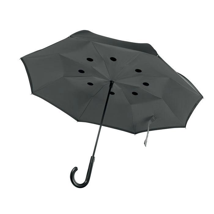 Umbrella Reversible Open (Grey)