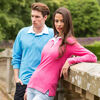 Long Sleeve Rugby Shirts - Light Blue & Pink