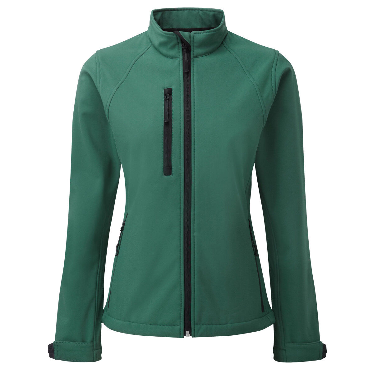 Russell Ladies Soft Shell Jacket - Cactus Green