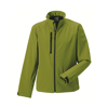 Russell Men's Soft Shell Jacket - Cactus