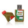 3D Shaped PVC Flash Drives