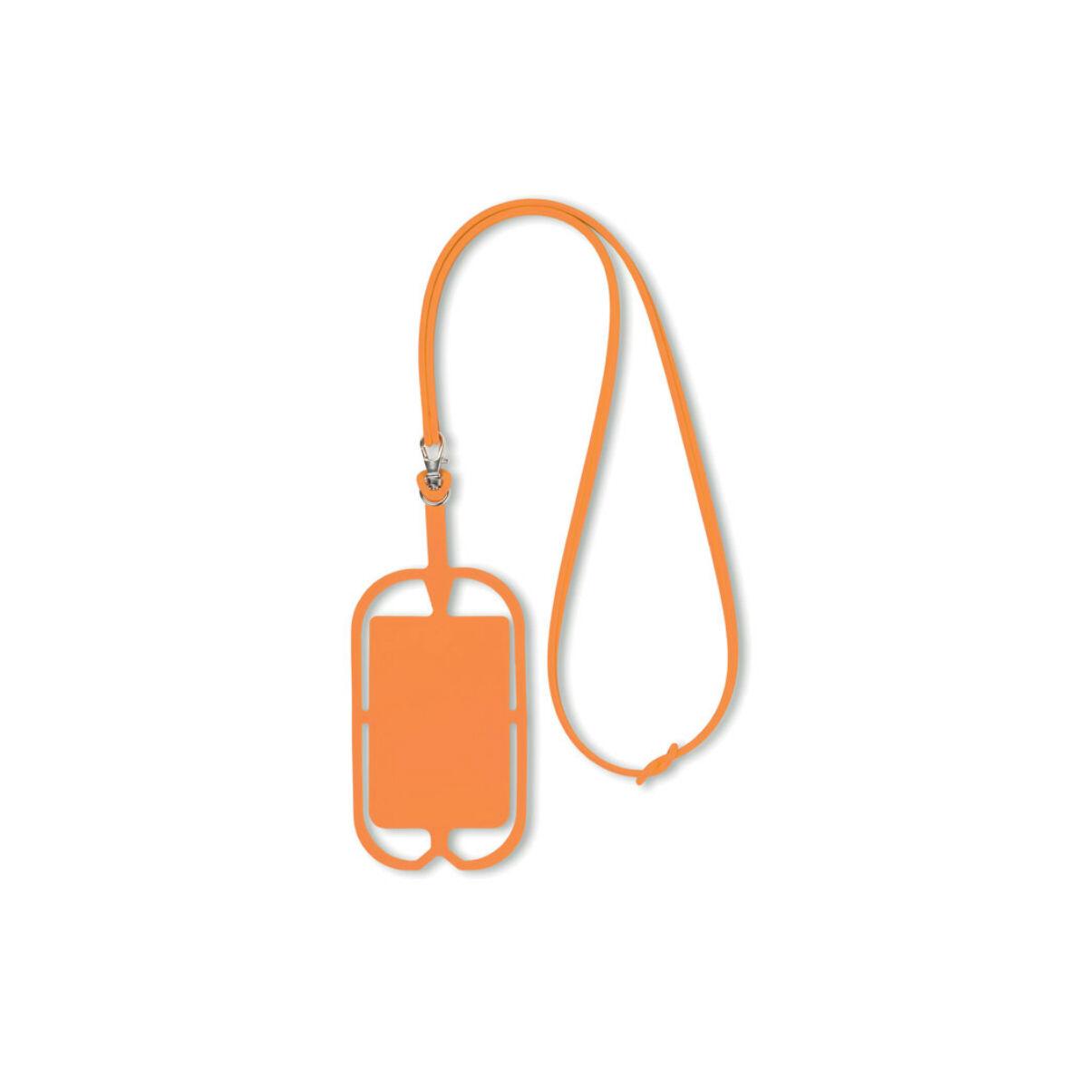 Smartphone Holder and Hanger (Orange)