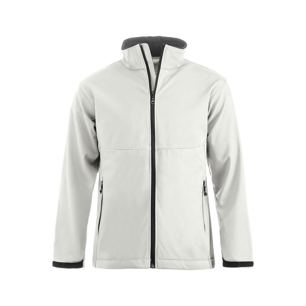 Clique Softshell Outdoor Jackets - White