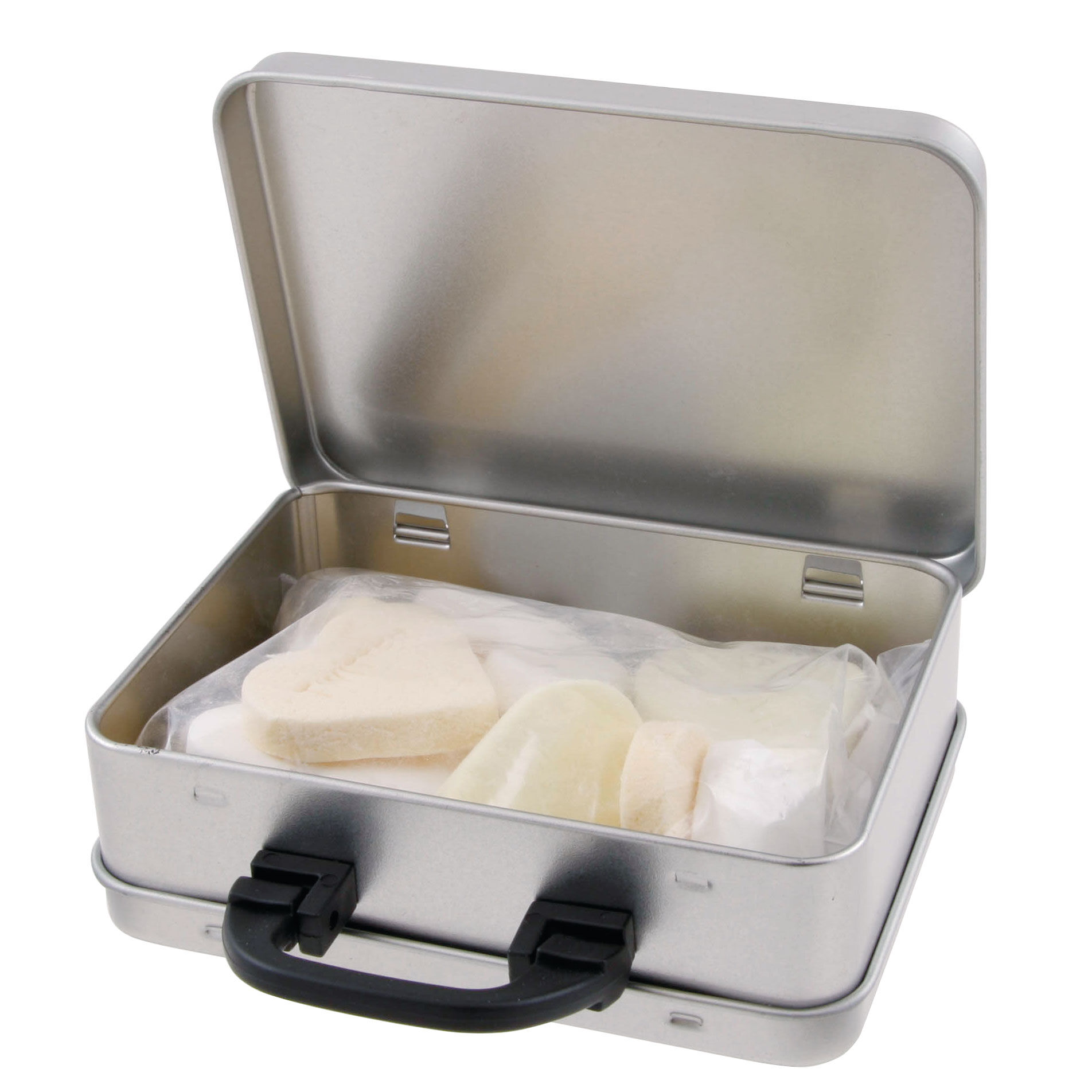 Suitcase Sweet Tins - Hearts