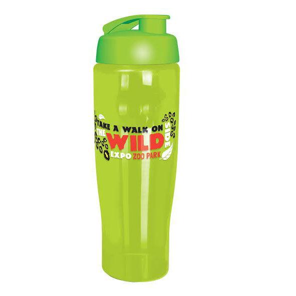 Sports Bottle Lime - Flip Lid