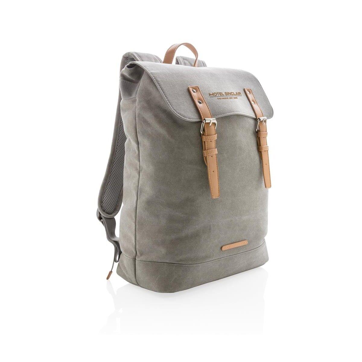 Traveller Laptop Backpack - Grey