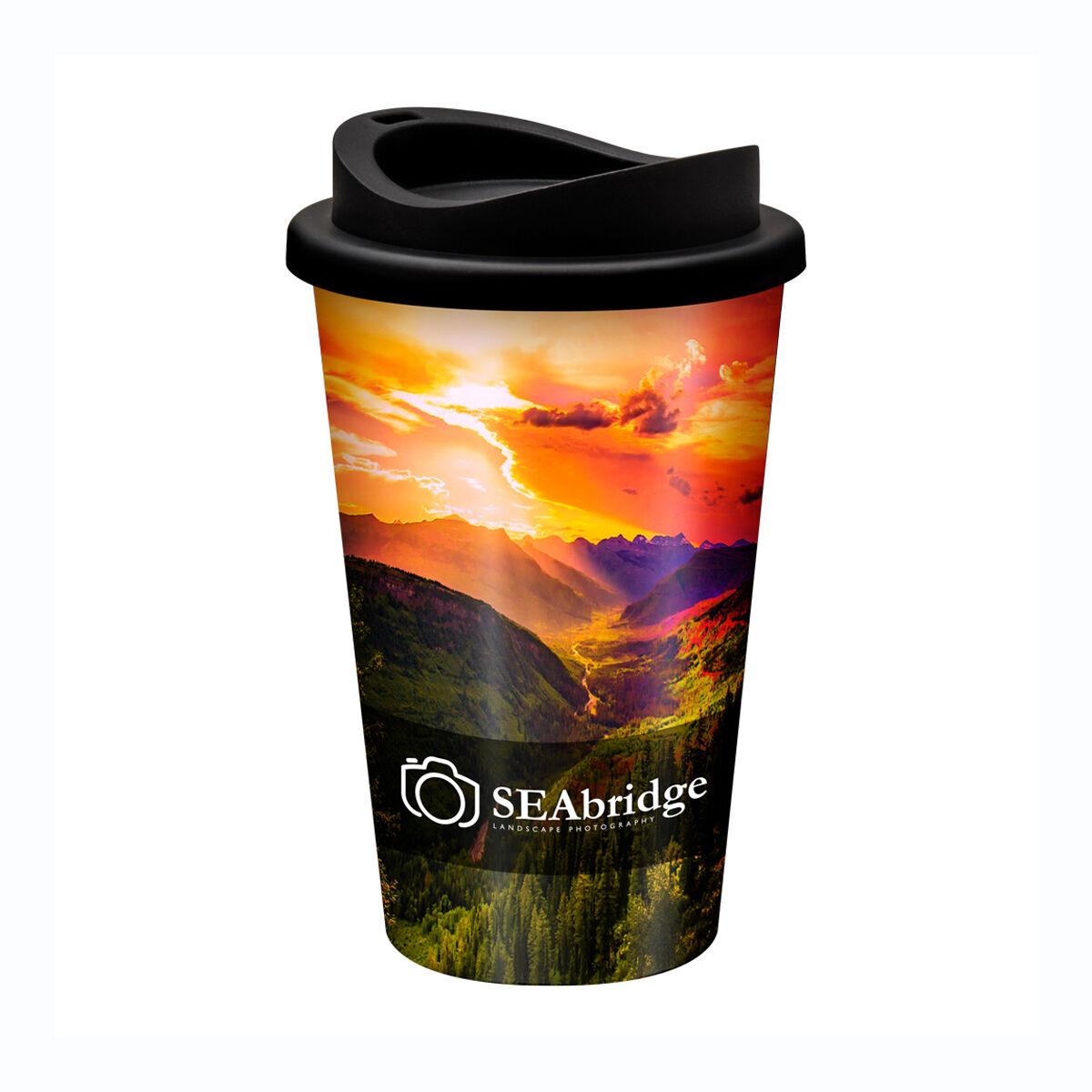 Universal Travel Mug with a full colour print