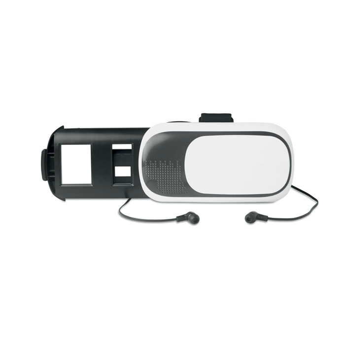 Virtual Reality Glasses with Earphones